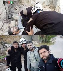curriculum vitae template journalist shooting hoax proof of employment video shows white helmets staging fake rescue in syria