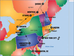 map of canada east coast east coast of canada map major tourist attractions maps
