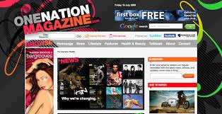 design magazine site web design awesome magazine style sites