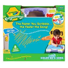 amazon com crayola beginnings color me a song toys u0026 games
