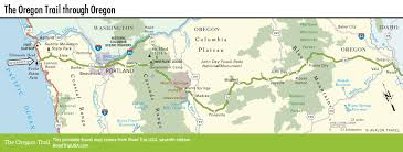 State Map Of Oregon by The Oregon Trail Across Oregon State Road Trip Usa