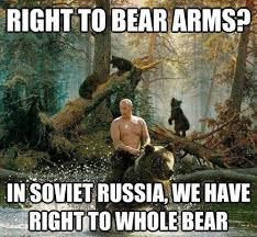 Russian Army Meme - putin the russian army bare whole bear