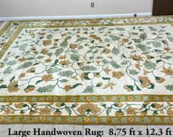 Sculptured Area Rugs Chinese Rug Etsy