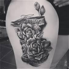 36 best family rose tattoo images on pinterest tattoo ideas