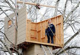 family may reassemble treehouse in back yard pittsburgh post gazette