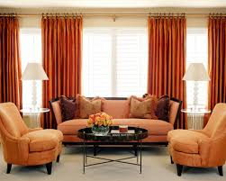 Contemporary Orange Curtains Designs Design Decorating Outstanding Contemporary Bedroom Blinds And