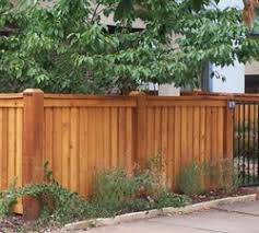 Fence Landscaping Ideas Noticeable Fence Landscape Ideas Datzon Simple Vertical Wooden And