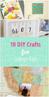 10 diy crafts for college kids tip junkie