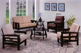 new wooden sofa set designs rustic and classic wooden sofa set