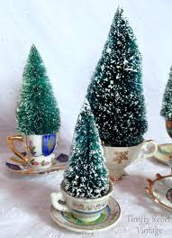 easy mini tea cup trees thrifty rebel vintage