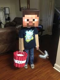 Steve Minecraft Halloween Costume Minecraft Halloween Costume Halloween