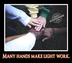 Many Hands Make Light Work Quote Characteristics Of Successful Teams