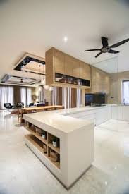 modern wet kitchen design modern kitchen design with integrated bar counter for a small