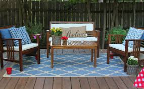 outdoor wood patio furniture trellischicago