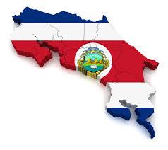 Costarica Flag Costa Rica Map Coffeeam