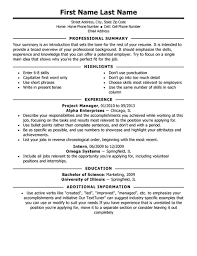 6 best images of executive classic formatted resume template