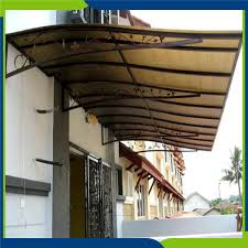Lexan Awnings Long Life Span Polycarbonate Greenhouse Roofing Long Life Span
