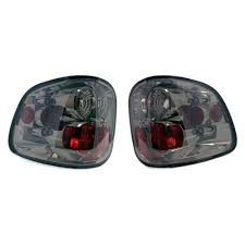 ford lightning tail lights f 150 svt lightning smoked tail lights 99 04 lmr