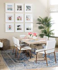 How Tall Is A Dining Room Table How To Choose A Rug Rug Placement U0026 Size Guide Designer Trapped