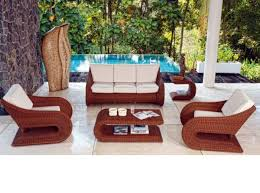 modern outdoor table and chairs 45 outdoor rattan furniture modern garden furniture set and lounge