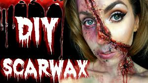 Make Your Own Halloween Makeup Diy 2 Ingredient Sfx Scar Wax How To Make Your Own Sfx Scar