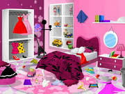 Barbie Room Game - play cleaning games online free