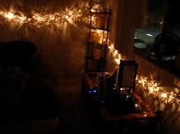 Decorative Strings Of Lights by Christmas Lights In Room Fire Hazard How To Hang String On Ceiling