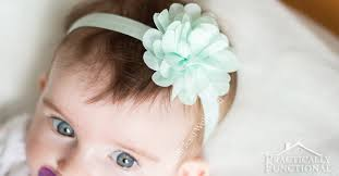 baby flower headbands no sew baby flower headbands