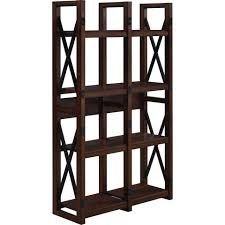 better homes and gardens preston park veneer bookcase room divider