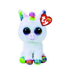 ty beanie boos small pixy unicorn plush toy claire u0027s