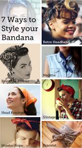 how to wear bandanas with bob hairstyles since i m wearing bandanas as i grow out my hair i will try it