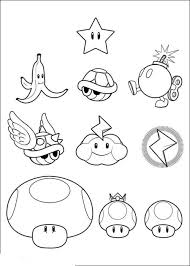 print u0026 download mario kart wii coloring pages
