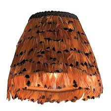 feather chandelier 6 pheasant feather chandelier shade shades of light