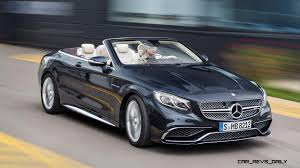 peugeot cabriolet 2017 630hp v12tt 2017 mercedes amg s65 cabriolet arrives in may