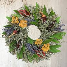 herb wreath california herb wreath creekside farms