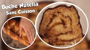 cuisine rapide sans four recette rapide de la bûche au nutella sans cuisson cuisine