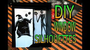 Window Halloween Silhouettes How To Make Halloween Window Silhouettes Diy Halloween Decor