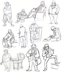 57 best sketching people images on pinterest drawing tips
