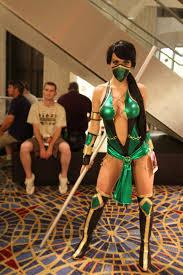Jade Halloween Costume Jade Mortal Kombat Cosplay Kristen Hughey Cosplay