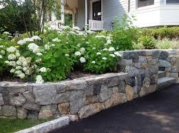 garden stone retaining wall team galatea homes unique stone