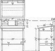 Free Woodworking Plans Writing Desk by Woodworking Building Plans Writing Desk