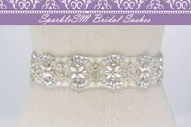Wedding Sashes Bridal Sash Wedding Sash Bridal Belt Crystal Sash Rhinestone
