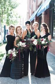 black bridesmaid dresses 560 best black bridesmaid dresses images on marriage