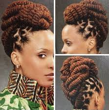 2017 classy bun hairstyles for african american women stylish twist updo hairstyles for african americans gallery