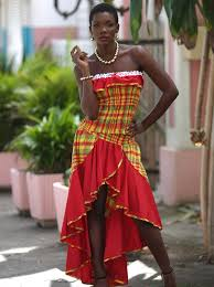 caribbean attire ensemble hibiscus dodyshop mode antillaise