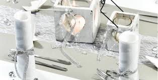 ideen zur silbernen hochzeit tischdekoration in silbergrau vintage kaufen tischdeko shop