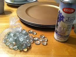 Krylon Mirror Glass Spray Paint - encore creations putting a little bling onto your holiday table