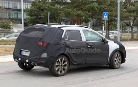 kia u0027s baby crossover appears in spy shots again autoguide com news