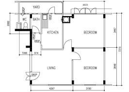 hdb floor plan bto flats ec sers house plans etc