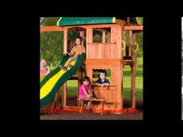 Backyard Discovery Montpelier Cedar Swing Set Backyard Discovery Prairie Ridge All Cedar Wood Playset Bronze